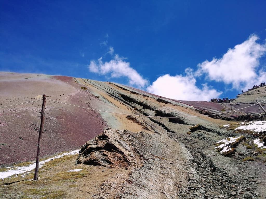 Le montagne arcobaleno in Perù Escursione alle montagne colorate di Vinicunca vicino a Cuzco