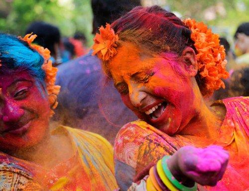 Holi Festival in India La festa più colorata dell'India