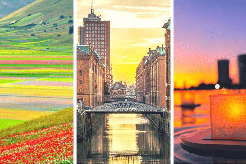 Partire a maggio: dove andare in Italia, Europa e nel mondo Vacanza a maggio in Umbria, in Gemania o alle Hawaii