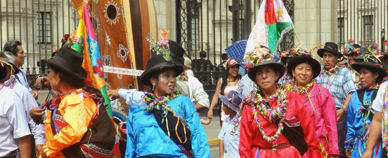 Popolazione etnie Perù