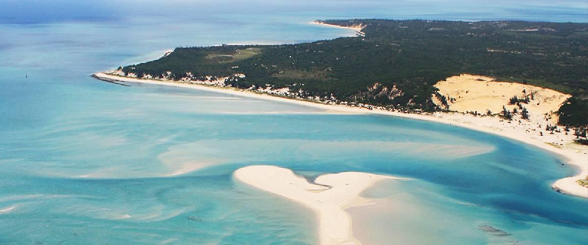 Vista con Drone dell'arcipelago